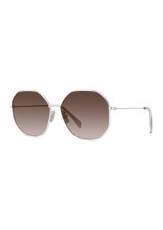 Celine Geometric Metal Sunglasses