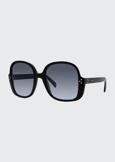 Celine Irregular Acetate Sunglasses