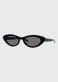 Celine Slim Acetate Cat-Eye Sunglasses