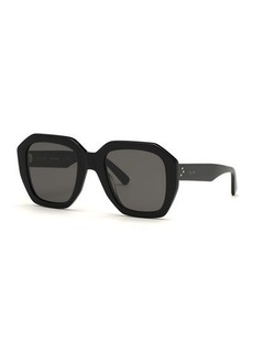 Celine Square Universal-Fit Acetate Sunglasses