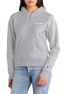 Champion Reverse Weave® Logo Drawstring Hoodie