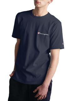 Champion Logo Embroidered Crewneck T-Shirt