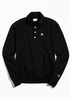 Champion Reverse Weave Quarter-Snap Pullover Sweatshirt