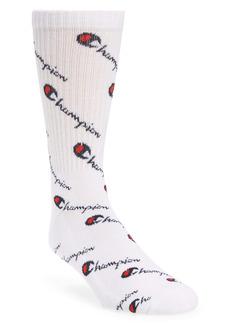 Champion Script Logo Socks