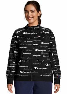 Champion Women's Plus Track Jacket-Print