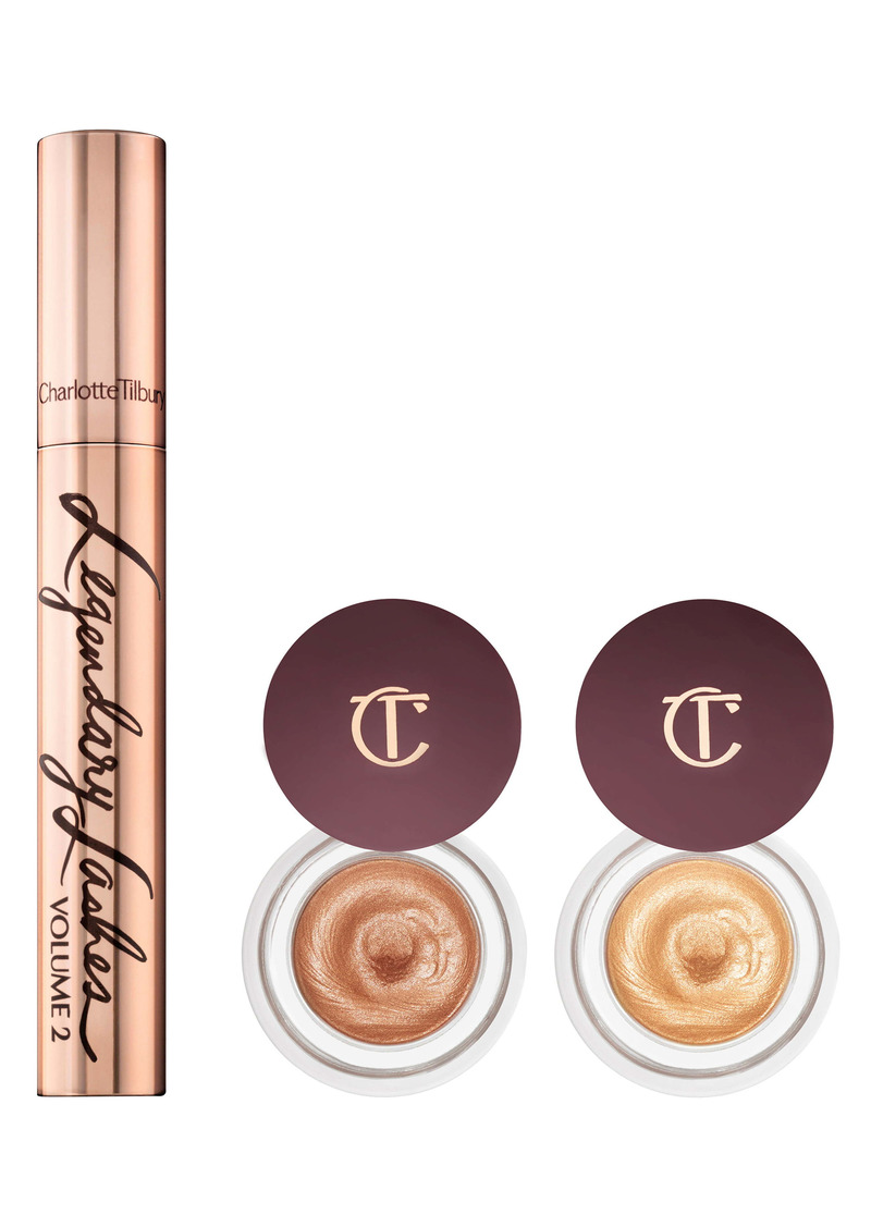 Charlotte Tilbury Glowing, Gorgeous Eye Secrets Set (Nordstrom Exclusive) ($96 Value)