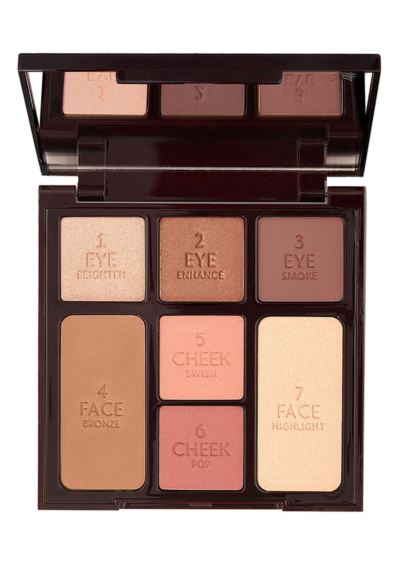 Charlotte Tilbury Stoned Rose Look in a Palette