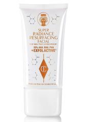 Charlotte Tilbury Super Radiance Resurfacing AHA + BHA + PHA Facial Exfoliating Mask