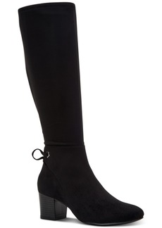 Charter Club Women's Jaccque Tall Stretch Boots, Created for Macy's Women's Shoes