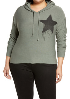Chaser Black Star Hoodie (Plus Size)