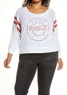 Chaser Coca Cola® Classic Long Sleeve Graphic Tee (Plus Size)