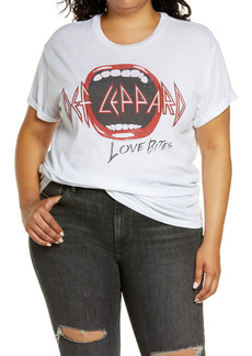 Chaser Def Leppard Graphic Tee (Plus Size)