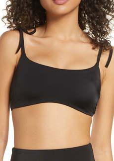 Chelsea28 Easy Retro Tie Strap Bikini Top