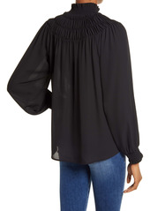 Chelsea28 High Neck Smock Top