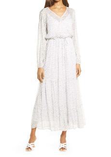 Chelsea28 Long Sleeve Ruffle Dress