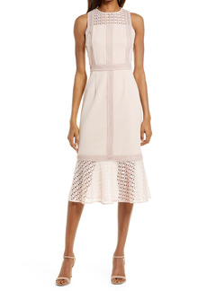 Chelsea28 Mix Lace Sheath Dress