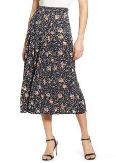 Chelsea28 Pleated Midi Skirt