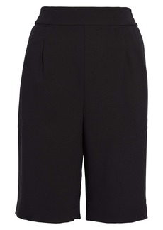 Chelsea28 Pleated Pull-On Shorts