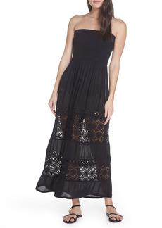 Women's Chelsea28 Farrah Smocked Cover-Up Maxi Dress