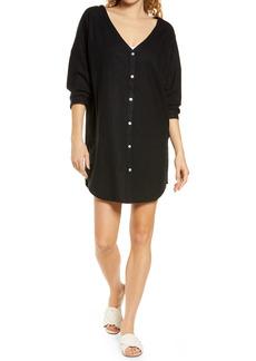 Women's Chelsea28 Oversize Linen Blend Cover-Up Shirt