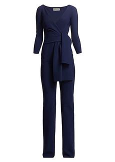 Chiara Boni La Petite Robe Jay Wrap Jumpsuit