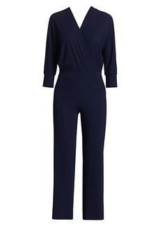Chiara Boni La Petite Robe Tawanna Long-Sleeve Jumpsuit
