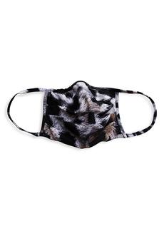 Chiara Boni La Petite Robe Zebra Print Face Mask