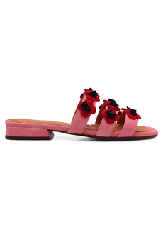 Chie Mihara tecun Leather Flat Shoes
