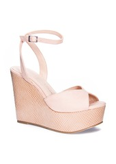Chinese Laundry Ellia Ankle Strap Platform Wedge Sandal (Women)