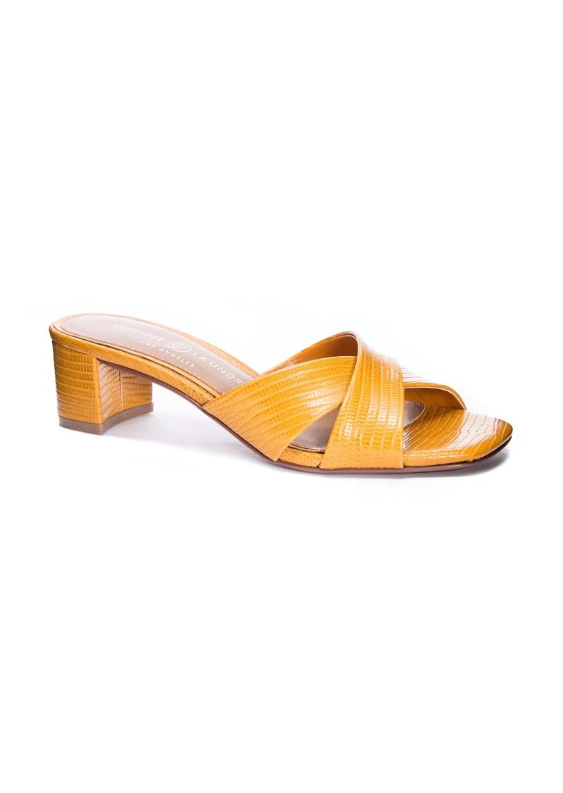 Chinese Laundry Luna Slide Sandal (Women)