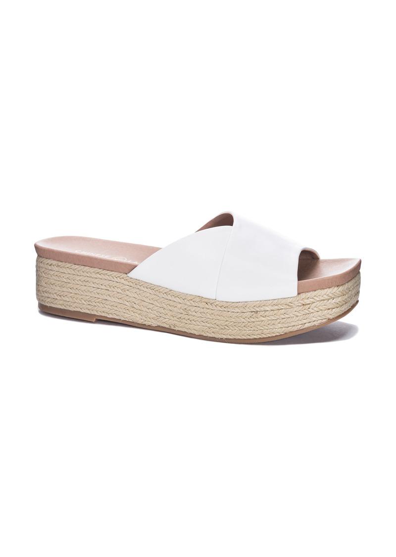 Chinese Laundry Seamist Espadrille Slide Sandal (Women)