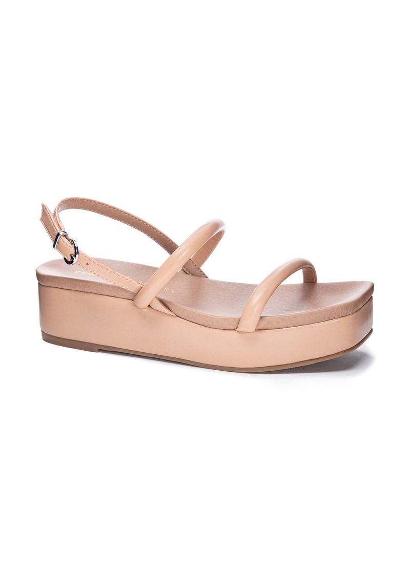 Chinese Laundry Skippy Platform Slingback Sandal (Women)
