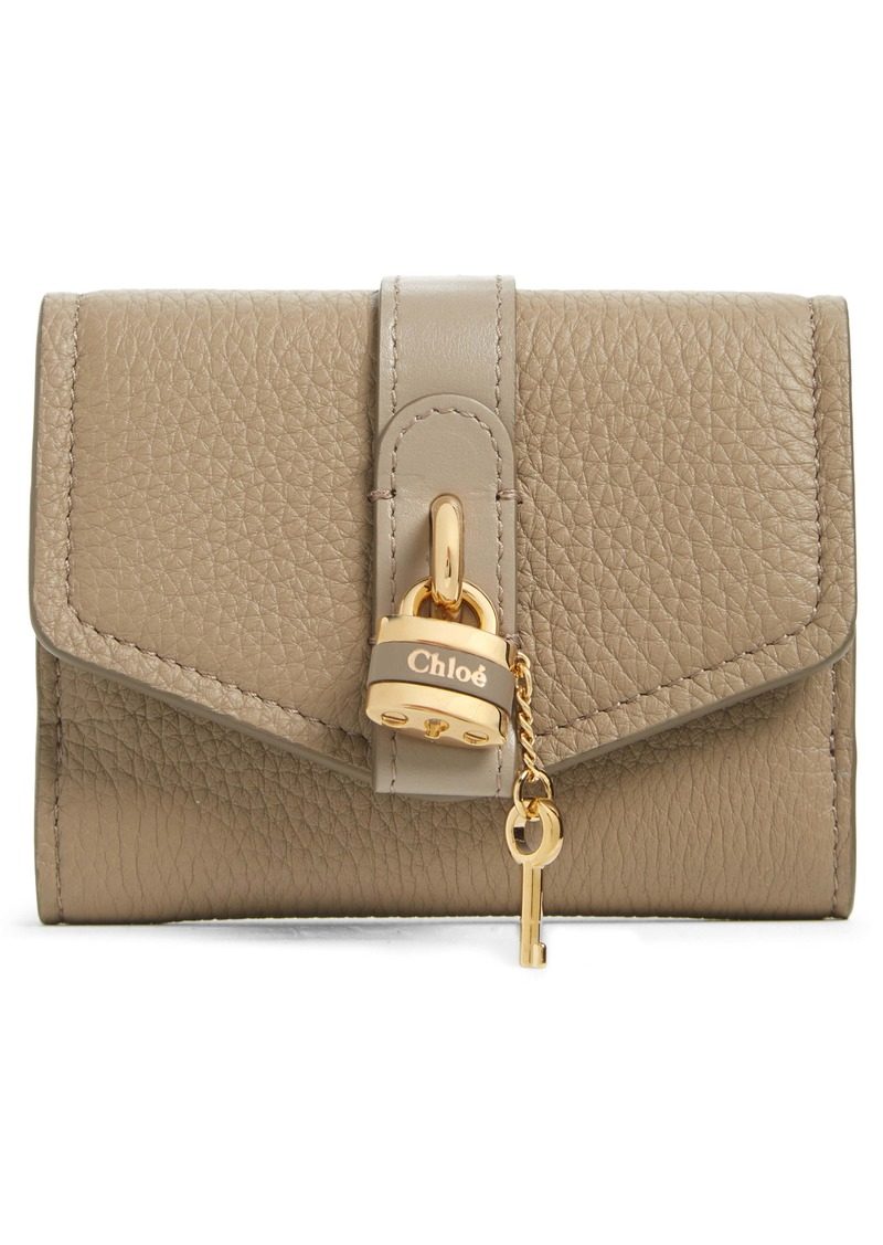 Chloé Aby Leather French Wallet