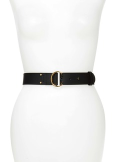 Chloé C-Buckle Leather Belt