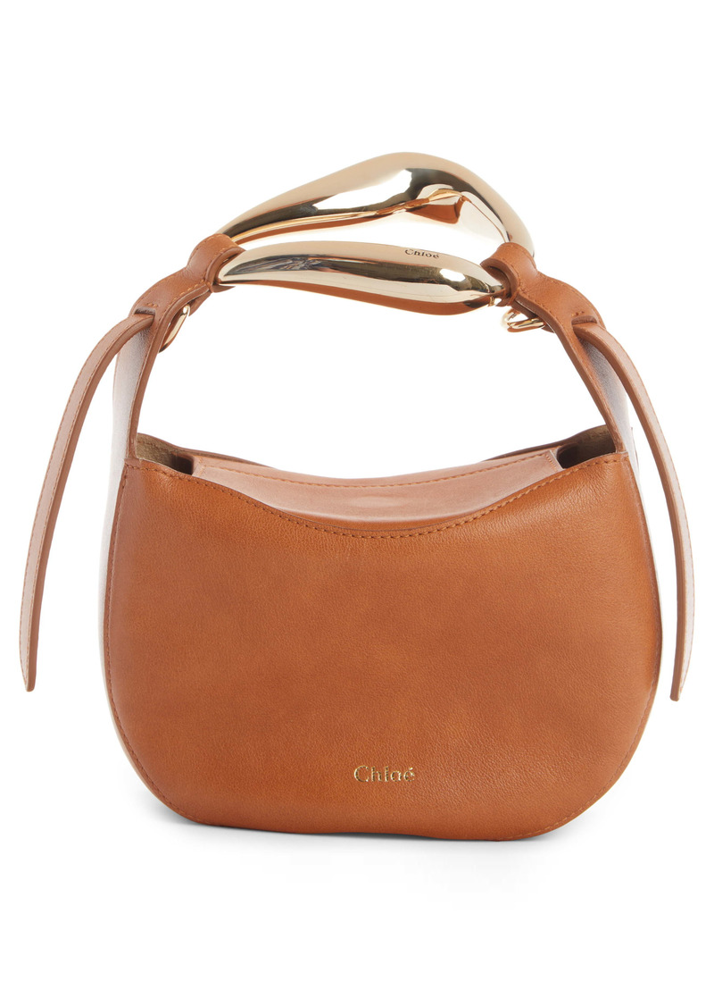 Chloé Kiss Leather Crossbody Bag