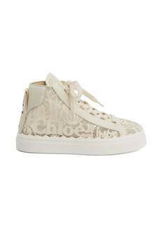 Chloé Lauren High Top Platform Sneaker (Women)