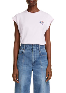 Chloé Logo Graphic Muscle Tee