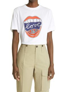 Chloé Love Organic Cotton Graphic Tee