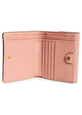 Chloé Marcie Leather French Wallet