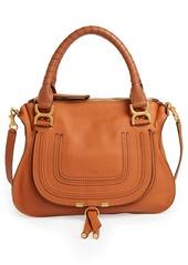 Chloé Medium Marcie Calfskin Leather Satchel