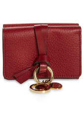 Chloé Mini Alphabet Leather Trifold Wallet