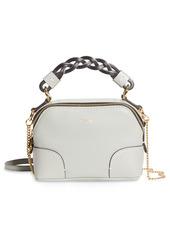 Chloé Mini Daria Hearty Floral Print Leather Crossbody Bag