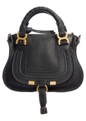 Chloé Mini Marcie Leather Crossbody Bag