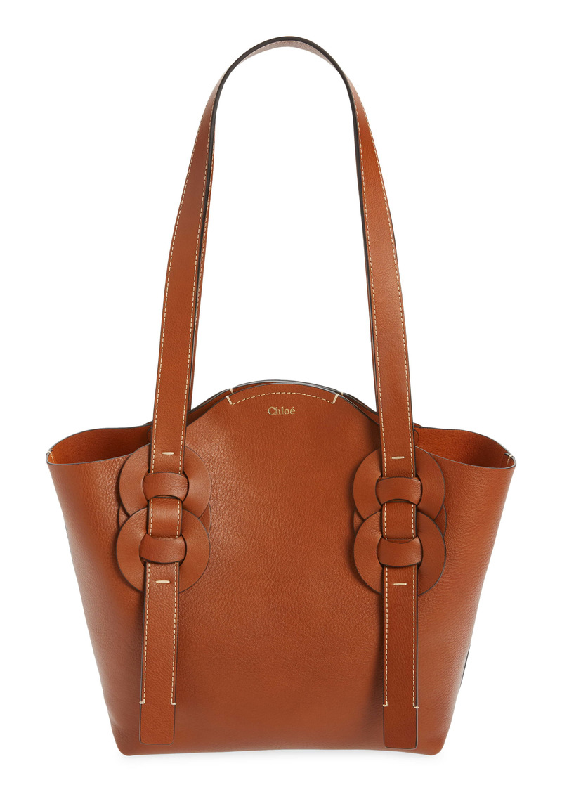 Chloé Small Darryl Leather Tote