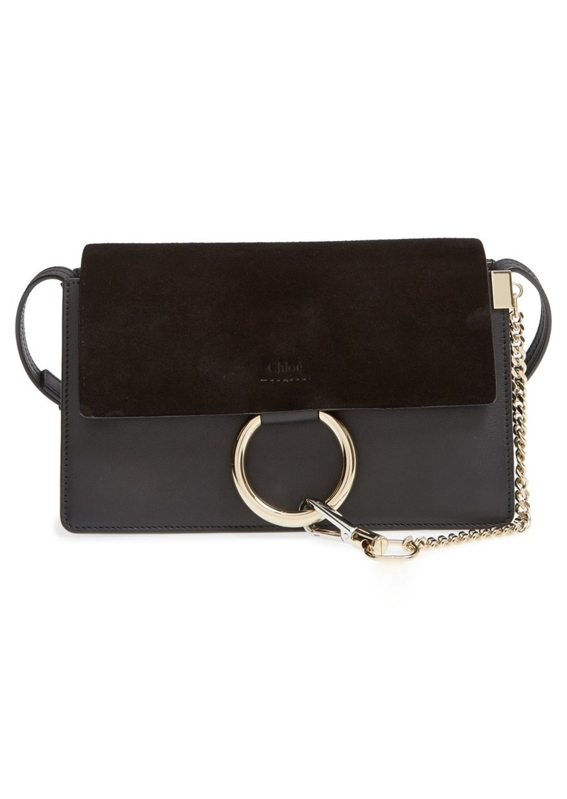 Chloé Small Faye Leather Crossbody Bag