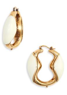 Chloé Trudie Hoop Earrings