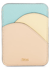 Chloé Walden Leather Card Holder