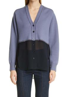 Chloé Wool & Silk Cardigan