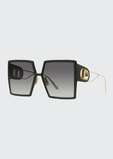 Christian Dior Dior Oversized Square Injection Plastic Sunglasses