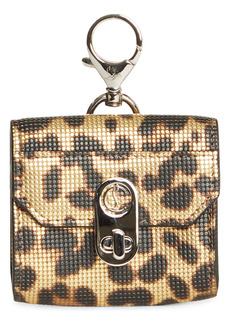 Christian Louboutin Elisa Animal Print Leather AirPod Pro Case